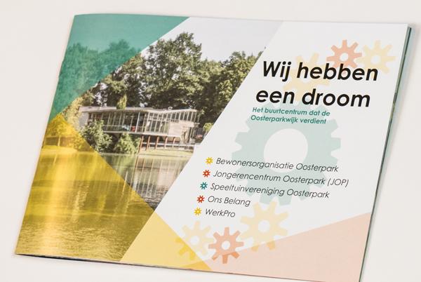 Grafisch ontwerp brochure