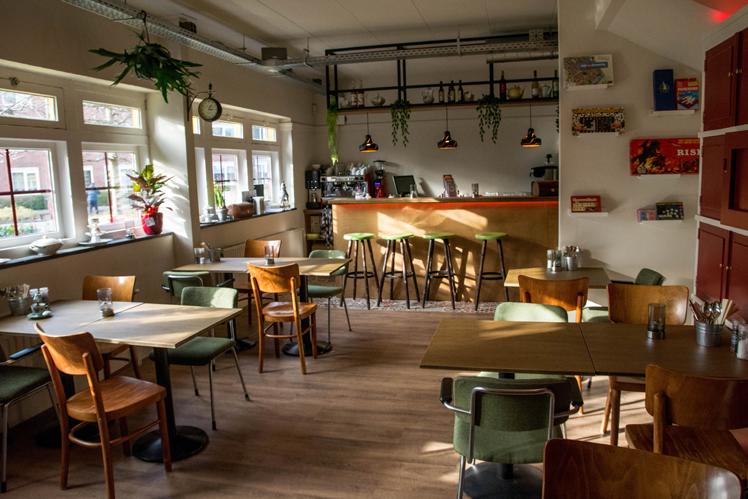 stadsrestaurant fotografie