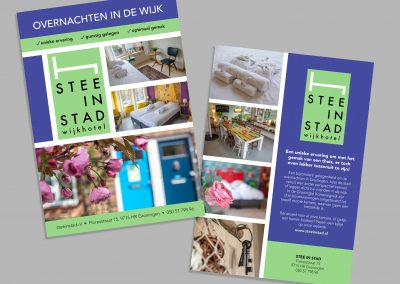 Stee in Stad Flyer
