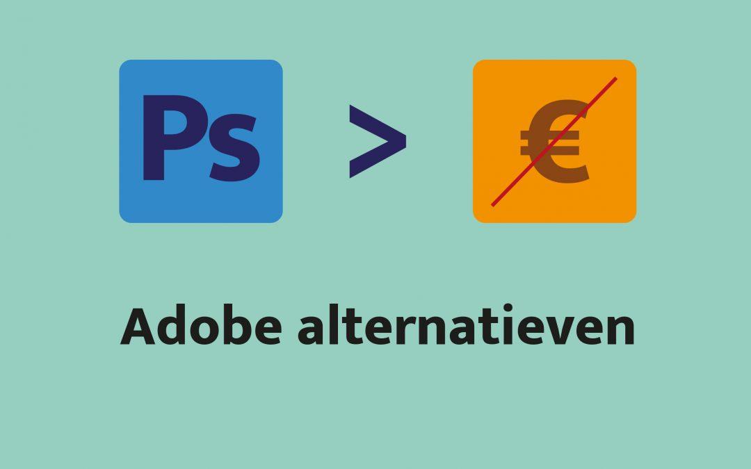 Adobe Alternatieven